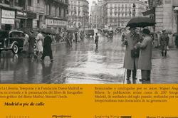 """Invitación libro """"Madrid a pie de calle"""""""