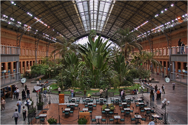 Estación de Atocha, Madrid