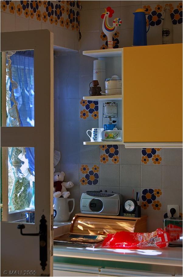 Un rincón de la cocina