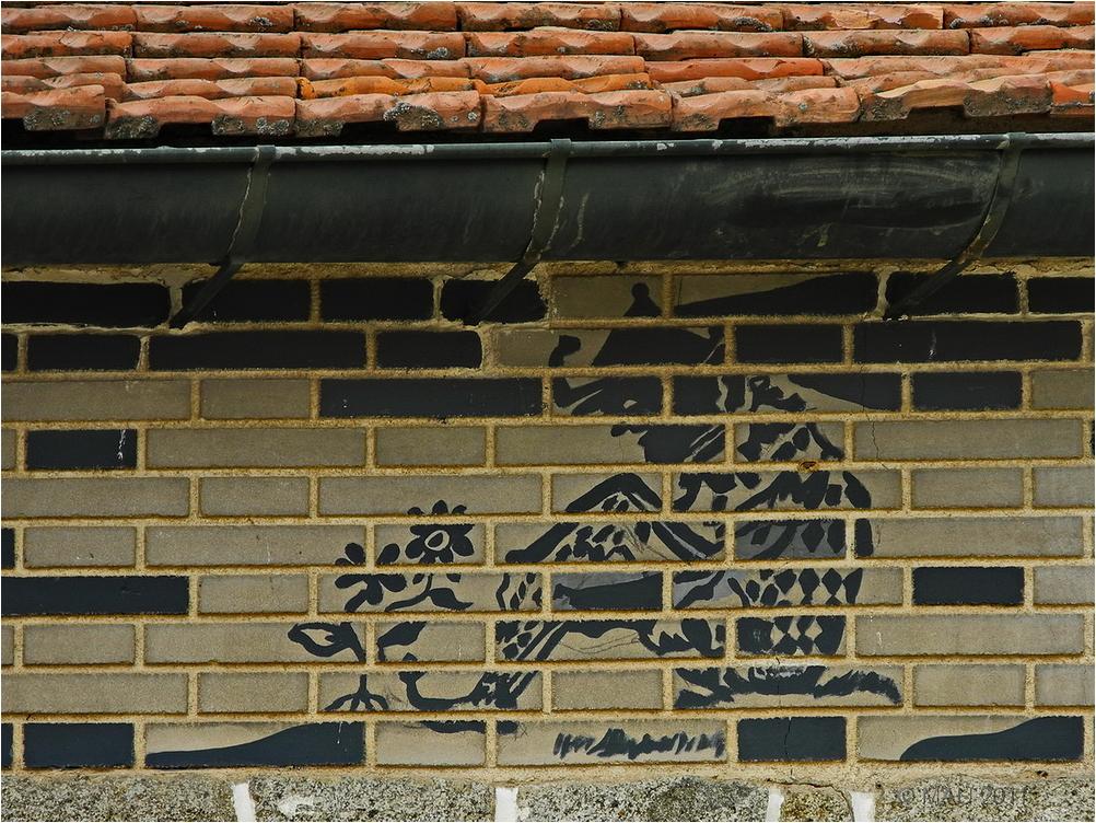 El duende de las flores no es graffiti