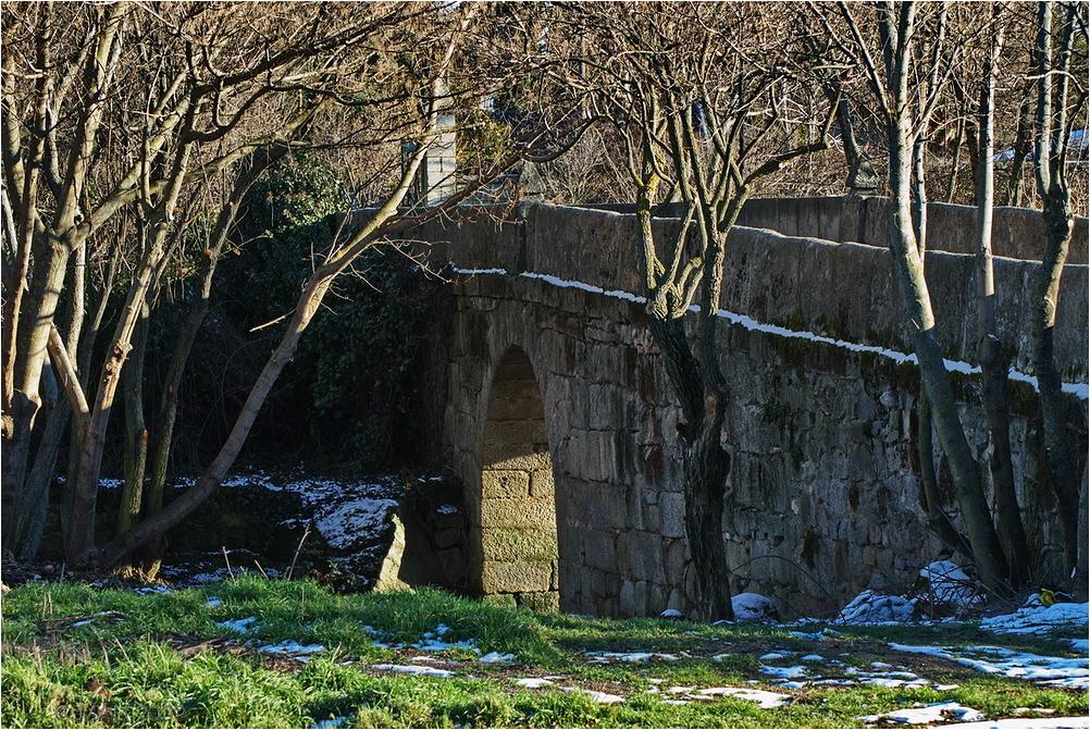 Puente romano sobre el rio Aulencia
