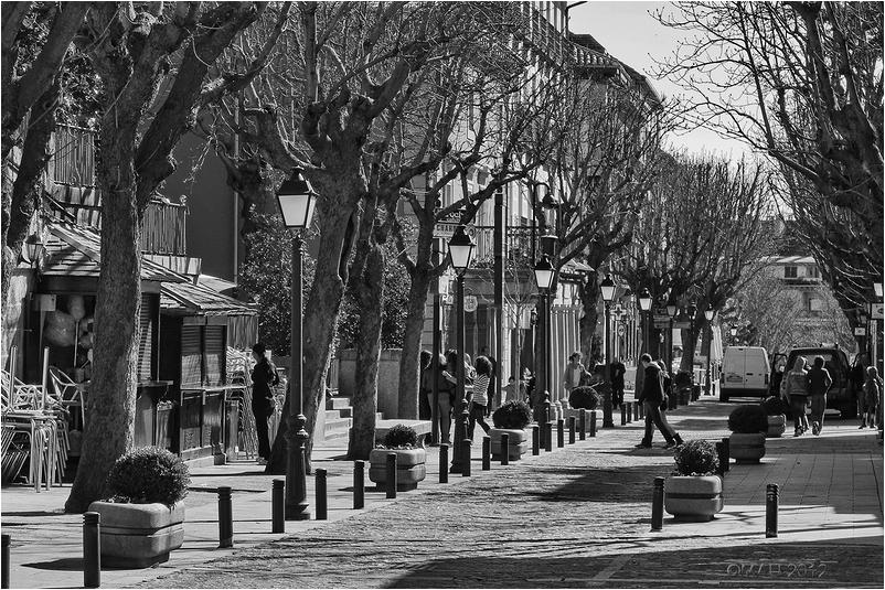 Calle Floridablanca en San Lorenzo de El Escorial