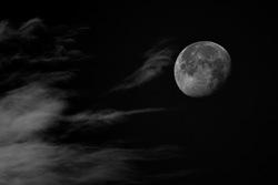 Acariciando la luna
