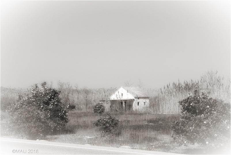 Una pequeña casita de campo