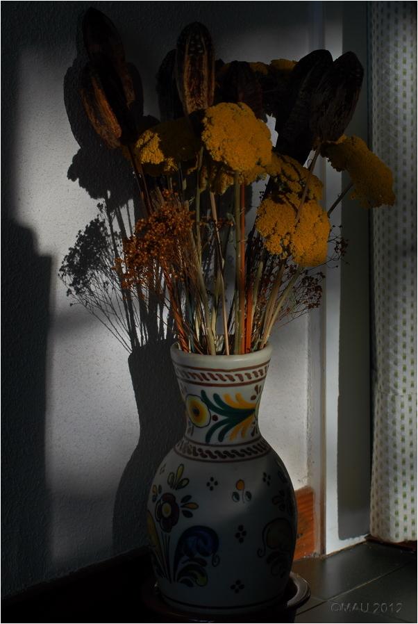 Las flores secas