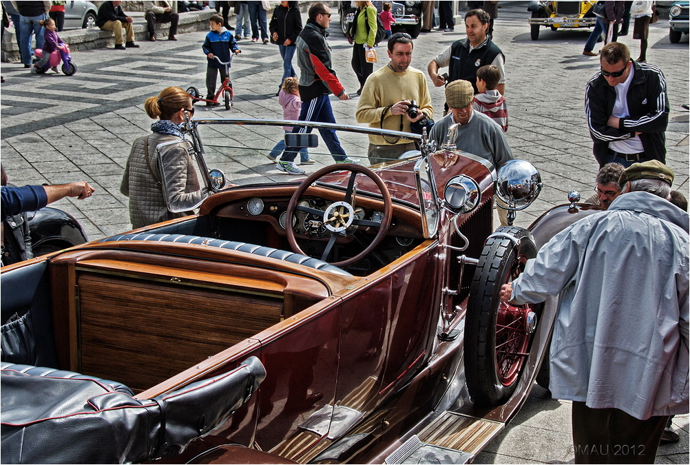 Hispano Suiza vintage car