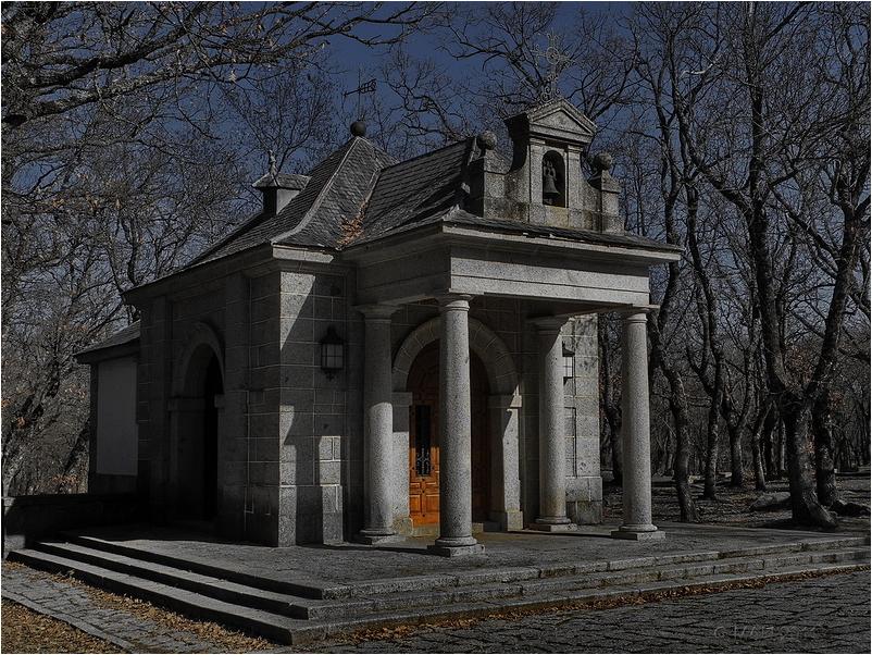 Vista de la ermita de La Herrería