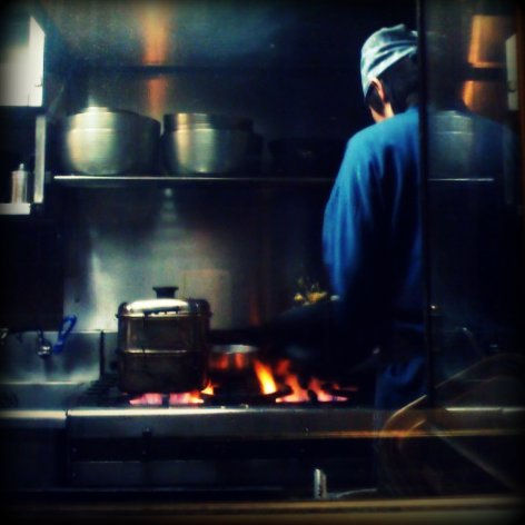 kitchen at the bar
