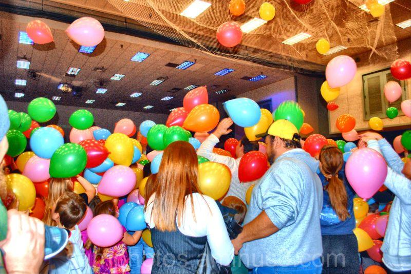 Ballon drop