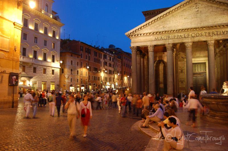 outside pantheon
