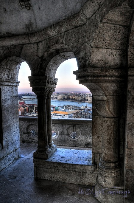 hdr view from buda castle...