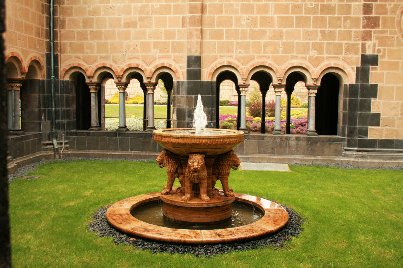 Fountain at Maria Laach