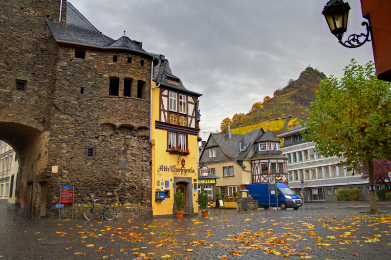 Cochem with HDR