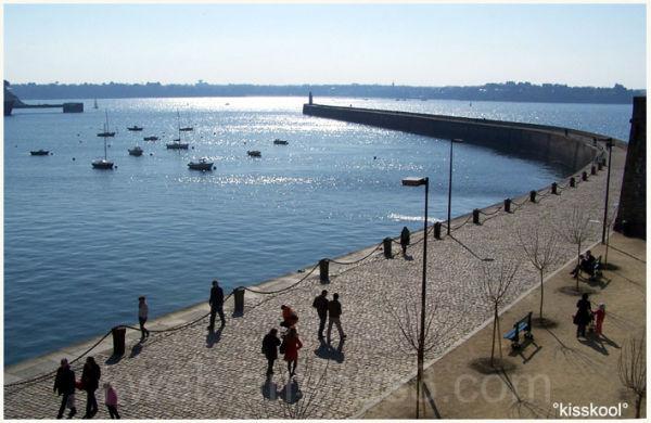 Jetée de St Malo, Mai 2009