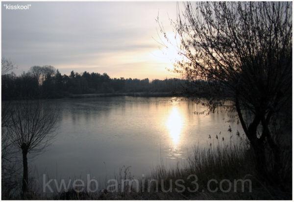 une levé de soleil en hiver ( février09)