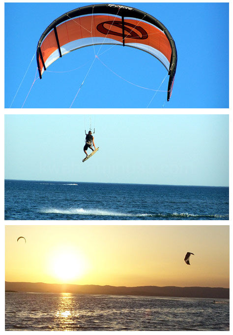 Kitesurf à Narbonne (aout 2009)
