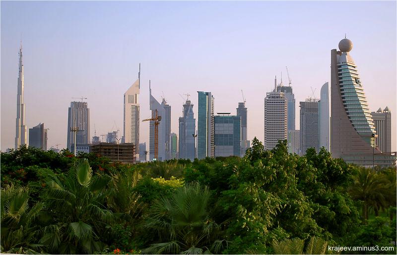 dubai buildings, sheikh zayed road