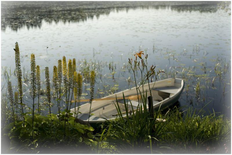 Finland, boat, summer