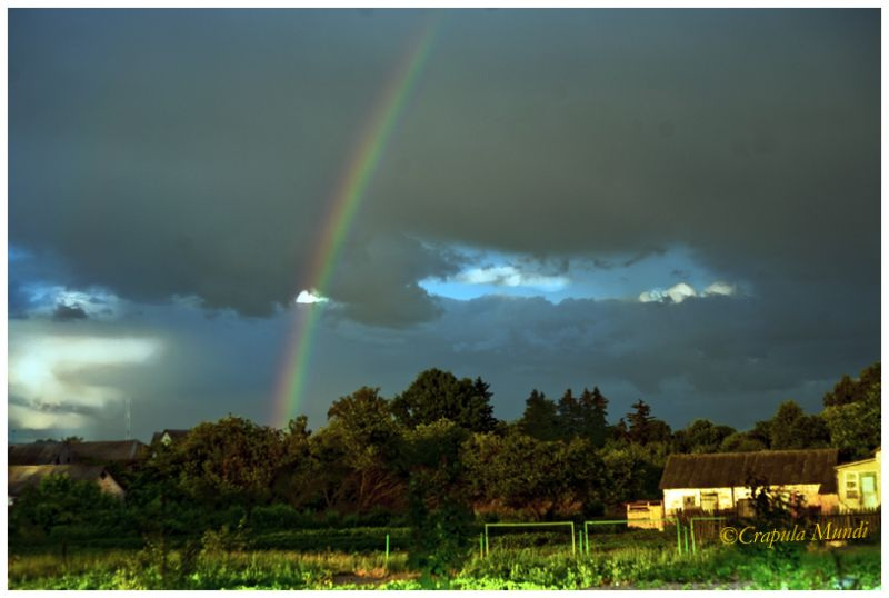 rainbow, Piski, Friend's House