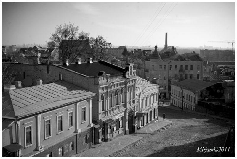Andreevsky spusk in Podil, Kyiv