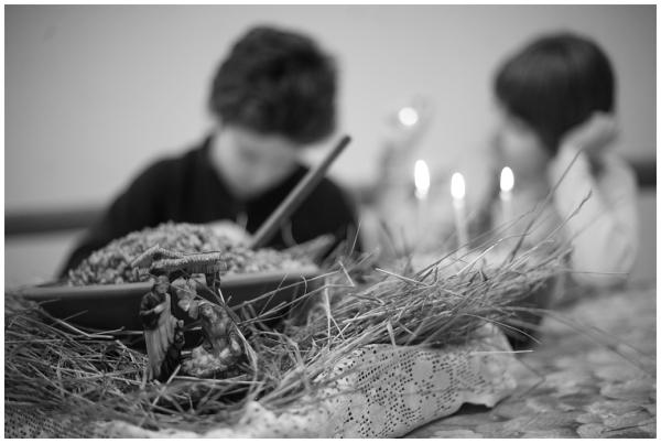 Christmas eve in Ukraine