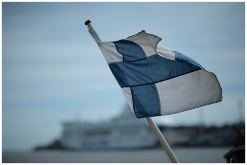 Flagg of Finland