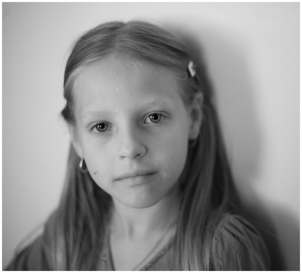 child portrait in naturel light
