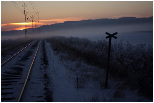 track, winter
