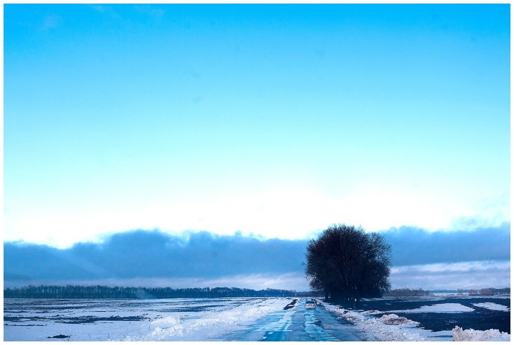winter, road; Ukraine