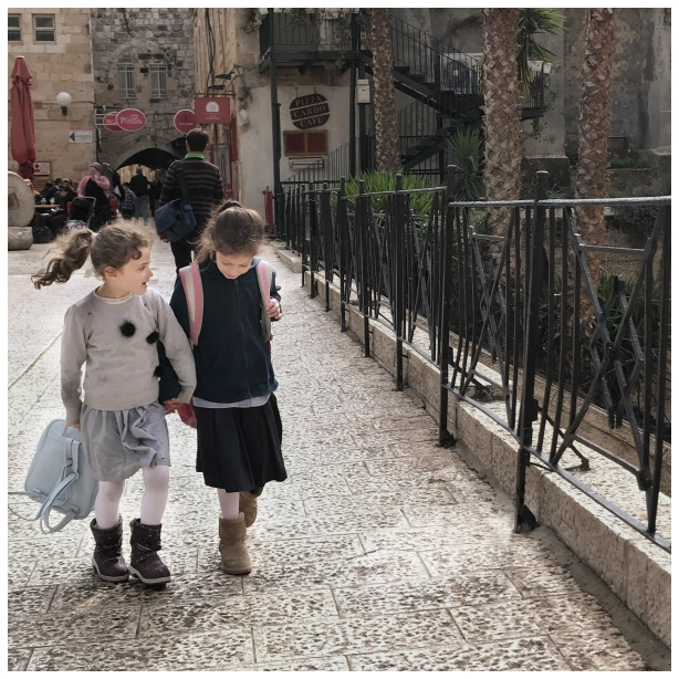 Schoolchildren in Jerusalem