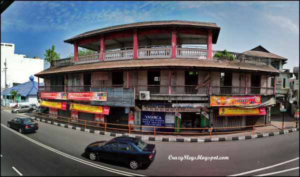 An old building in Penang