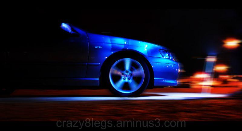 Speed at night..