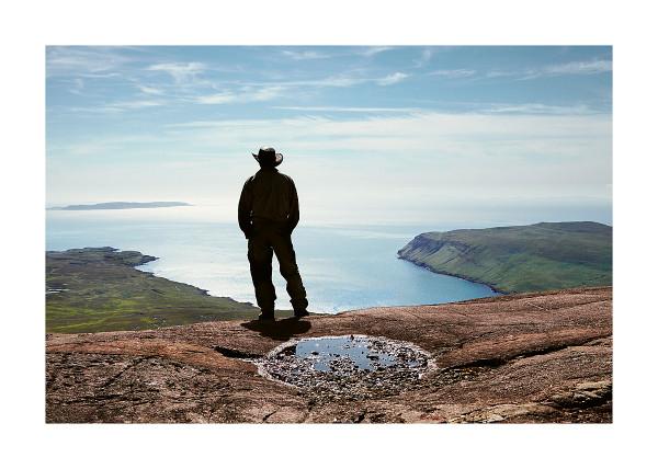 Alistair on Sgurr Alasdair, Isle of Skye