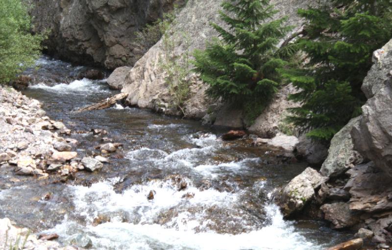 River in Creede Colorado