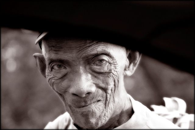 Weary Old Man