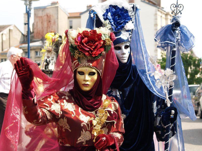 Portrait Carnaval Venise Verdun