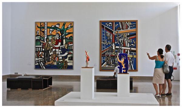 Visite au musée Fernand Léger (suite)