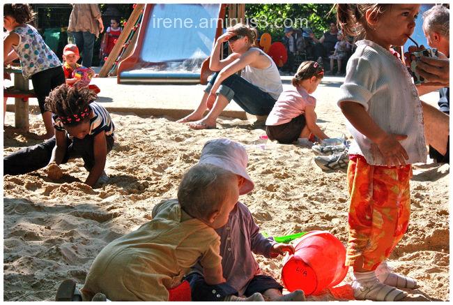 Le petit monde du bac à sable