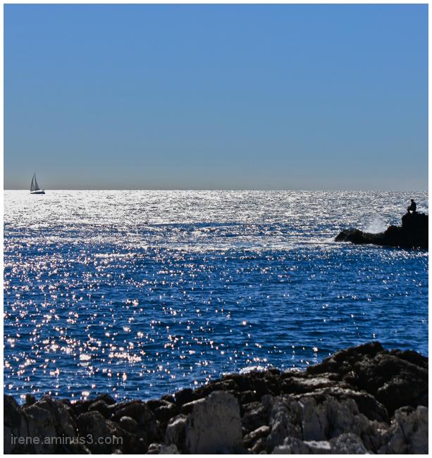A contempler la mer
