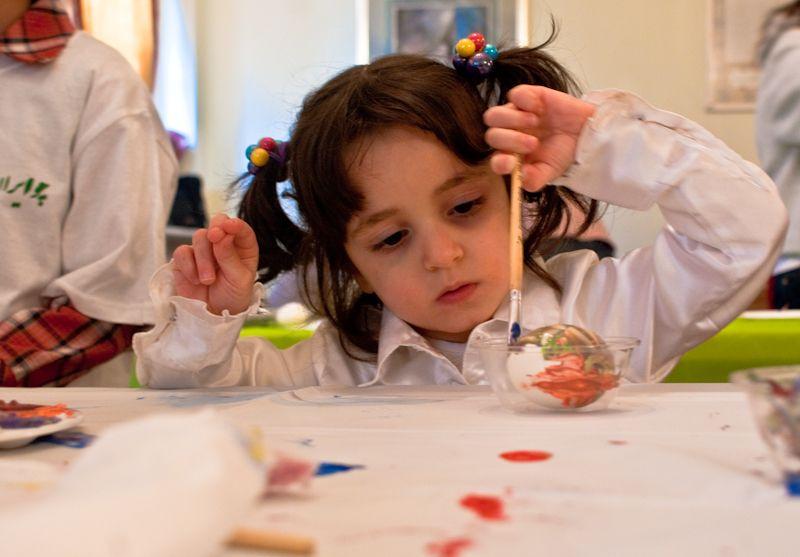 painting kid girl art
