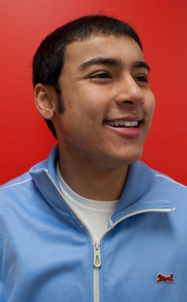 portrait male teenager