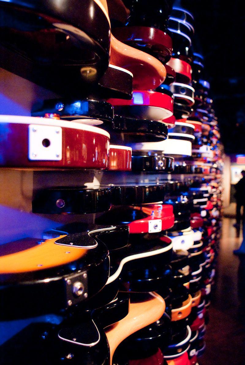 guitar wall hard rock