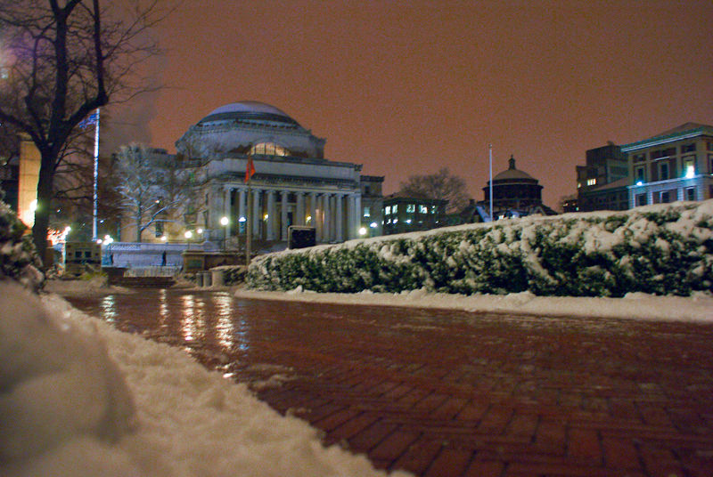 columbia university snow library