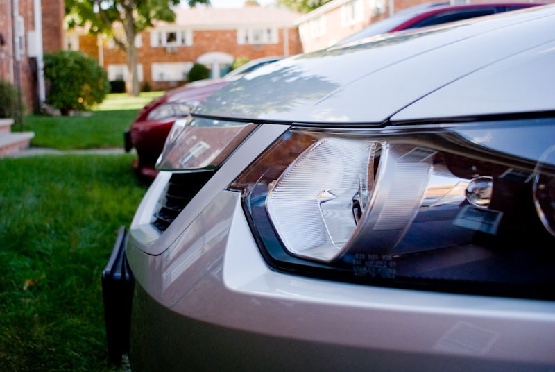 car headlight acura tsx