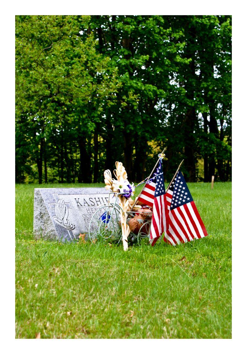 flag usa grave Memorial