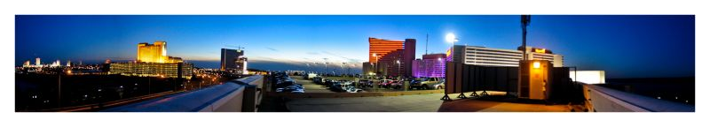 Atlantic City, NJ panorama