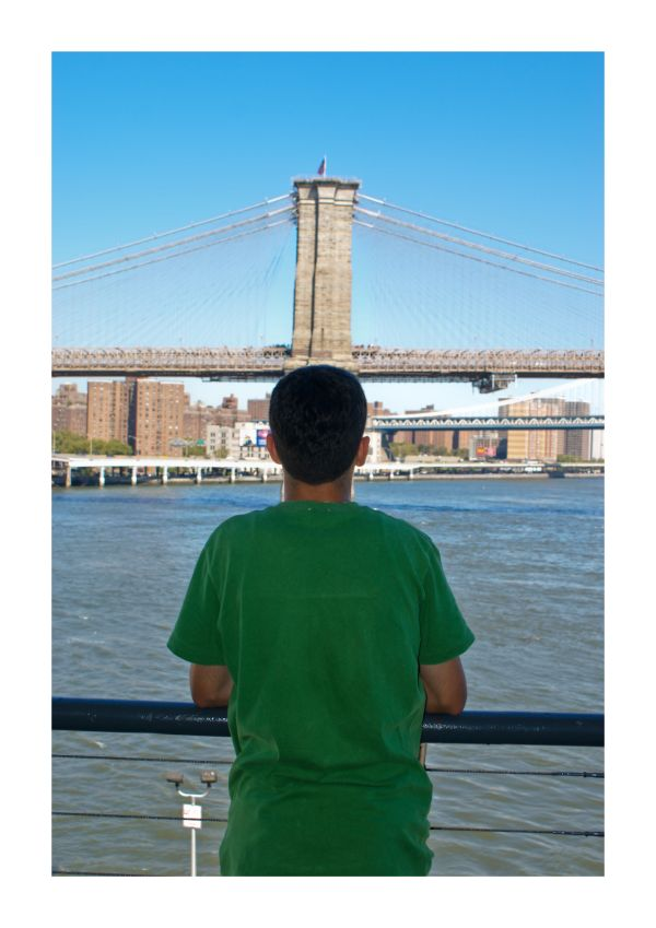 Green Brooklyn Bridge Awaits