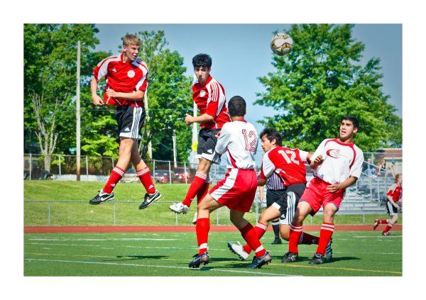 football, futbal, header, soccer