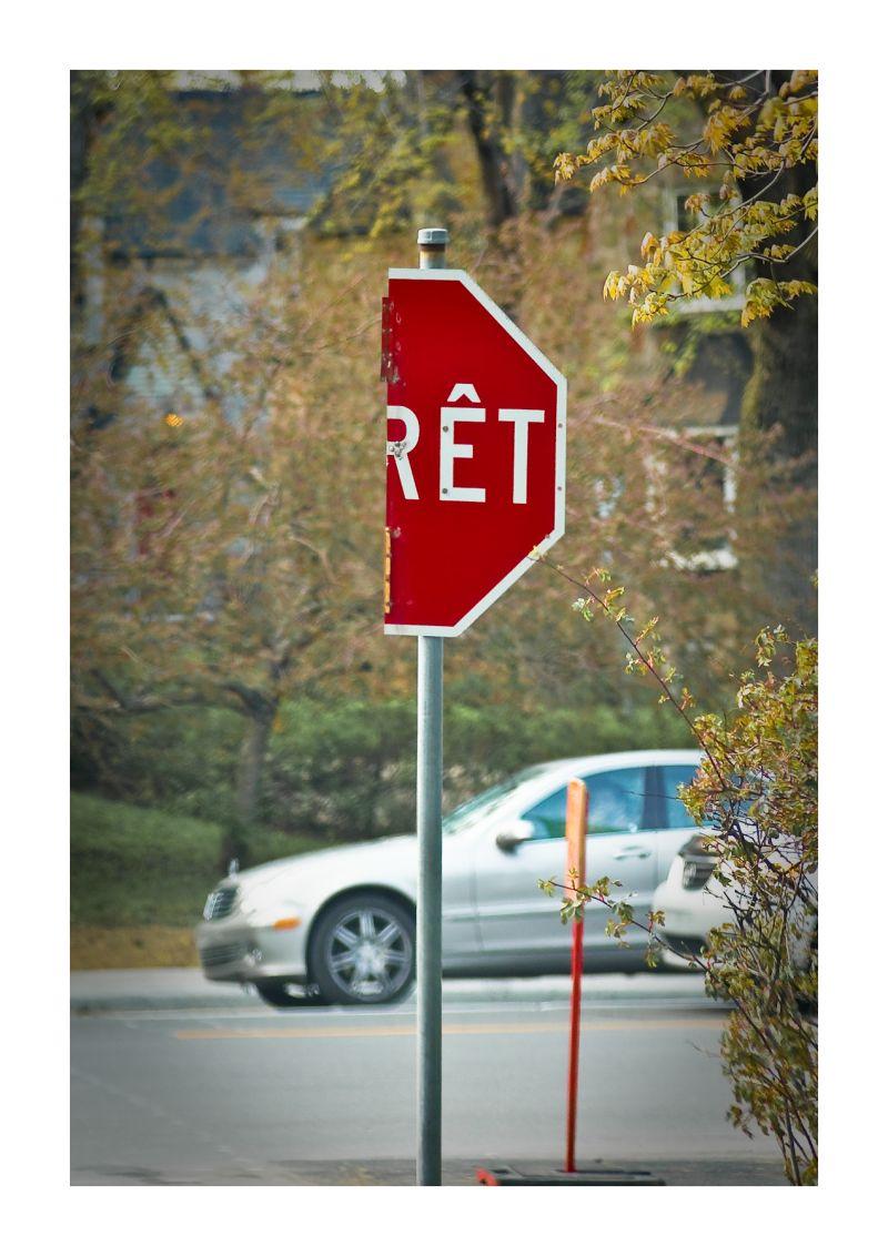 car, sign, stop