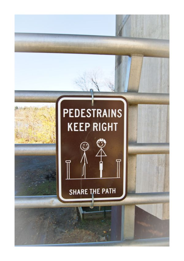 Silly Tuesday: Share the Path